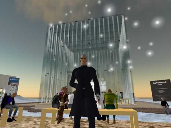 Local de Apple en Second Life