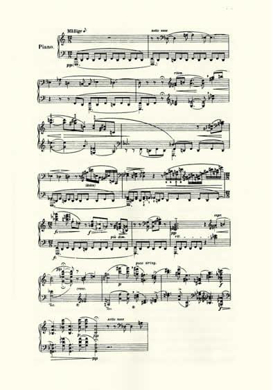 partituras para teclado. Pieza para Piano op.11 Nº