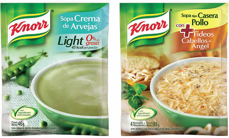 Sopa Knorr Quick Light