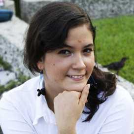 Retrato de Angélica Sáenz