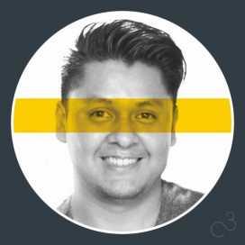 Retrato de Cesar Corona Castro