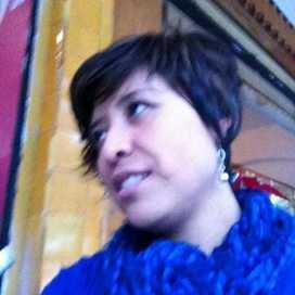 Retrato de María Isela Rodríguez