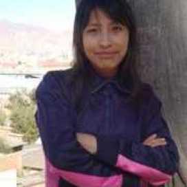 Retrato de Mabel Ximena Quispe Condori
