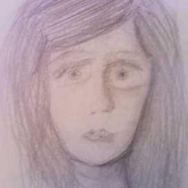 Retrato de Shirley Santiago