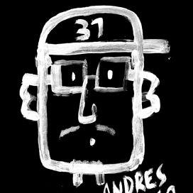 Retrato de Andrés Sanhueza