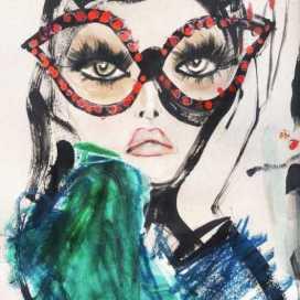 Retrato de Luciana Rico