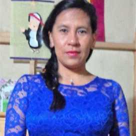 Retrato de Maria Violeta Dominguez Alvarez