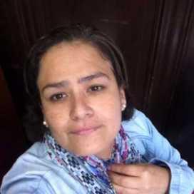 Retrato de Ana Angélica Inga Carranza