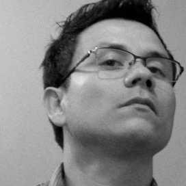 Retrato de John Naranjo
