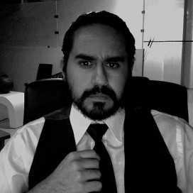 Retrato de Marcos Serrano Olascoaga