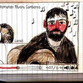 Retrato de Luis Rivera Camberos