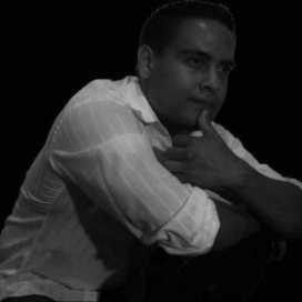 Retrato de Selvin Castellanos
