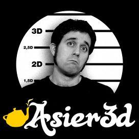 Logotipo de Asier3D