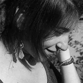 Retrato de Marcela Guajardo