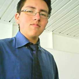Retrato de Marco Corrales Benavides