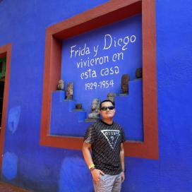 Retrato de Renzo Vargas Bejarano