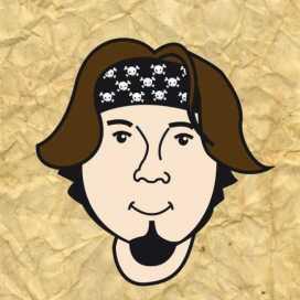 Retrato de Pablo Machado