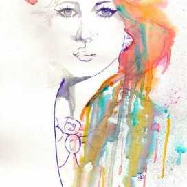 Retrato de Maria Fernanda Paredes