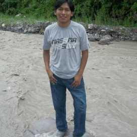 Retrato de Victor Espinoza