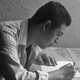 Retrato de Jorge Espinoza