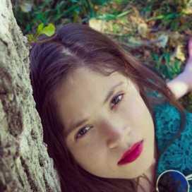 Retrato de Nubia Orona Castillo