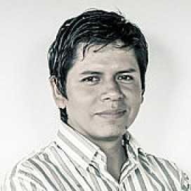 Retrato de Aldo Díaz