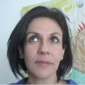 Retrato de Gabriela Villavicencio