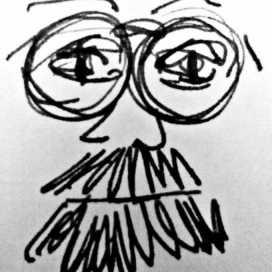 Retrato de Luis Felipe Argueta Ovando