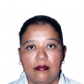 Retrato de María Eugenia Guerra Meza
