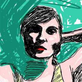 Retrato de Victoria Patrignani