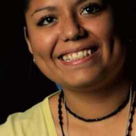 Retrato de Lupita Martinez V.