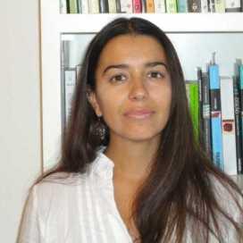 Retrato de María Eugenia Correa