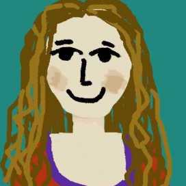 Retrato de Anabella Galvano