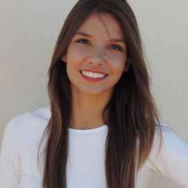 Retrato de María Fernanda Sapino