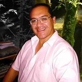 Retrato de Miguel Ángel Alburquerque Calderón