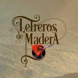 Letreros Maderas