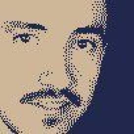 Retrato de Edward Bermúdez