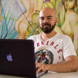 Retrato de César Pérez Velasco