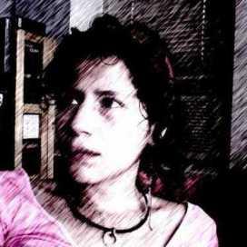 Retrato de Liz Amorfio