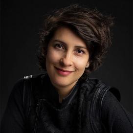 Retrato de Angie Saravia