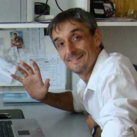 Retrato de Beto Lorenzati