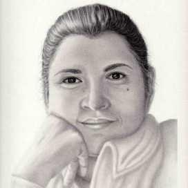 Retrato de Janid Alfaro
