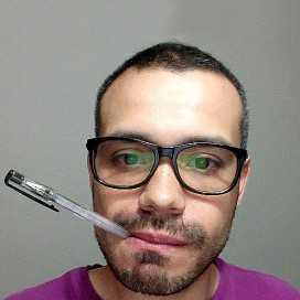 Retrato de Wustavo Quiroga