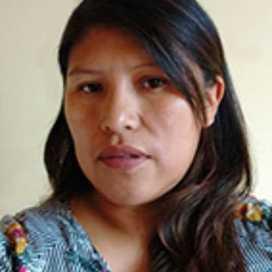 Retrato de Hermelinda Mamanchura