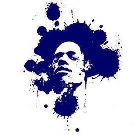 Retrato de La Tinta Azul