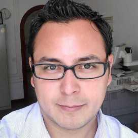 Retrato de Víctor Hugo Mendoza García