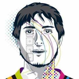 Retrato de Edgar Olvera