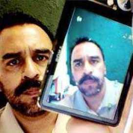 Retrato de Juan Carlos Saldaña
