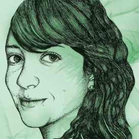 Retrato de Sara Patiño