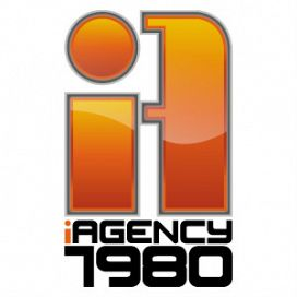 Logotipo de iAgency 1980